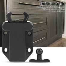 5 шт. ловит кухня шкаф доводчик двери шкафа отскок Скрытая защелка поймать 2 цвета мебельная фурнитура набор лучшее предложение