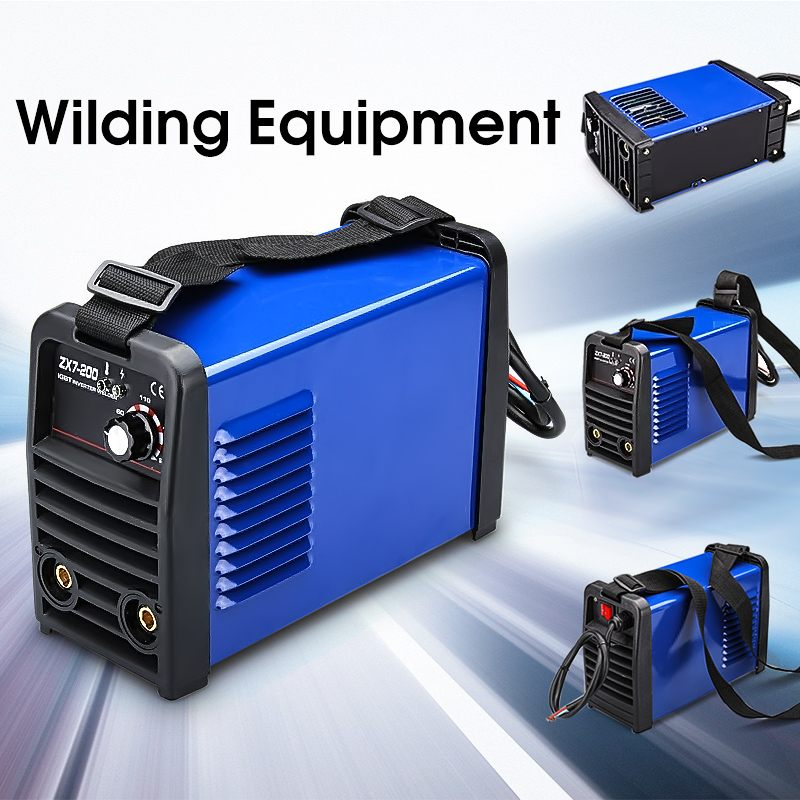 ZX7-200 IGBT DC Inverter Portable Multifunctional Welding Equipment MMA Welding Machine Aluminum Welding Machines блузка с v образным вырезом с принтом и длинными рукавами