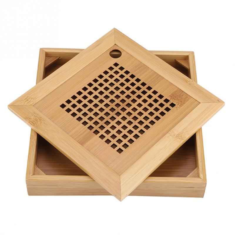 Mini Square Bamboo Tea Tray