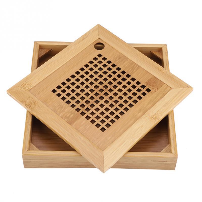 Mini Square Bamboo Tea Tray