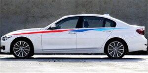 Image 4 - ドアサイドデカール車のステッカーの装飾のために適合自動反射ウエストライン 3 色