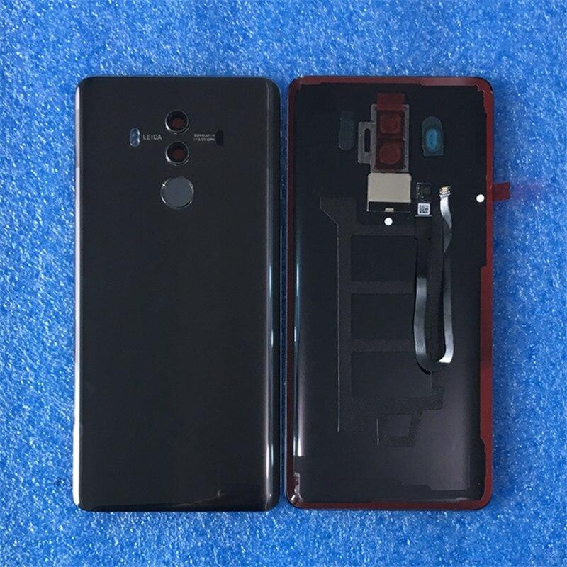 Original For Huawei Mate 10 Pro Axisinternational Glass Back Battery Cover Case+Fingerprint+Glass Lens For Mate 10 Pro Housing