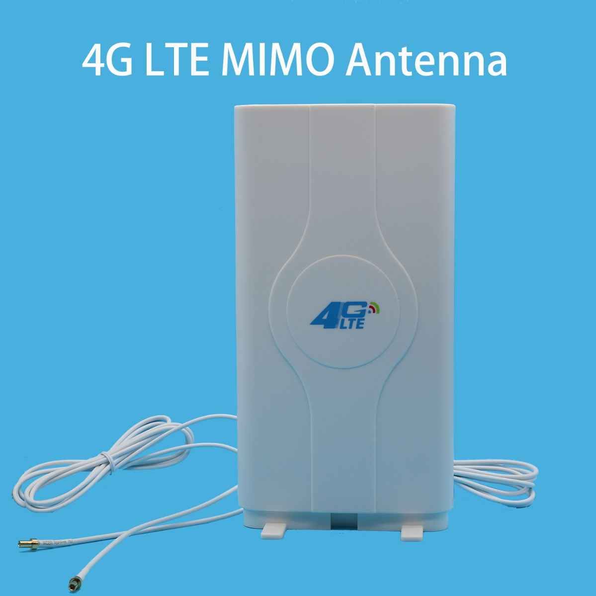 3G 4G LTE antenna Mobile antenna Booster mimo Panel Antenna  2*SMA-male/TS9/CRC9 Connector with 2M Cable 700~2600Mhz 88dBi
