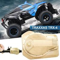 TRX 4 TRX4 1/10 Scale RC Rock Crawler Accessory Upgrade Brass Bridge Cover Brushless Motor