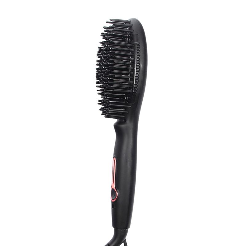 Professional Steam Hair Straightener Brush Mini Negative Air Ions Hair Comb Tourmaline Nano Ceramic Electric Hair Straight BruProfessional Steam Hair Straightener Brush Mini Negative Air Ions Hair Comb Tourmaline Nano Ceramic Electric Hair Straight Bru