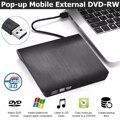 USB 3.0 Slim External DVD RW CD Writer Drive Burner Reader Player Optical Drives For Laptop PC