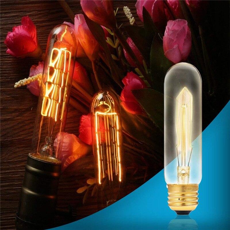 T10 E26 E27 4w Led Vintage Antique Filament Light Bulb: 60W Super Bright Vintage LED Edison Bulbs Warm White 2300K