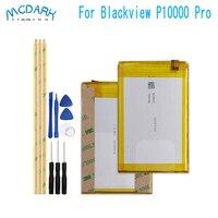 Mcdark 11000mAh Hight capacity for Blackview P10000 Pro Battery For Blackview P10000 Pro Phone Replacement Batteries +Tools