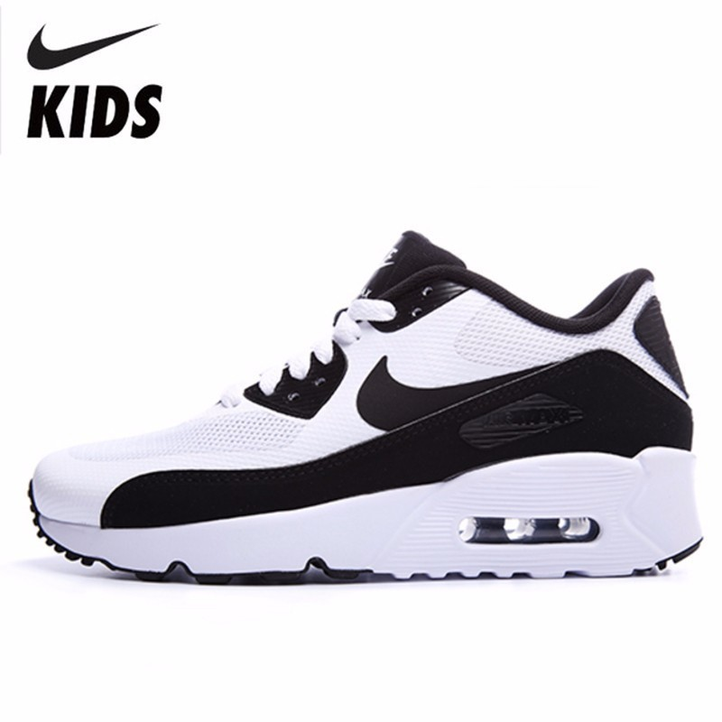 Nike AIR MAX 90 ULTRA Kids Shoes New Pattern Will Child Air Cushion Comfortable Running Sneakers#869950