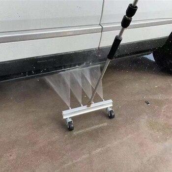 1 satz Auto Wasch Tool Kit neue design 4 düse reinigung auto chassis Wasser Spray Boden Waschen Pinsel Hohe Qualität auto Sauber Werkzeug