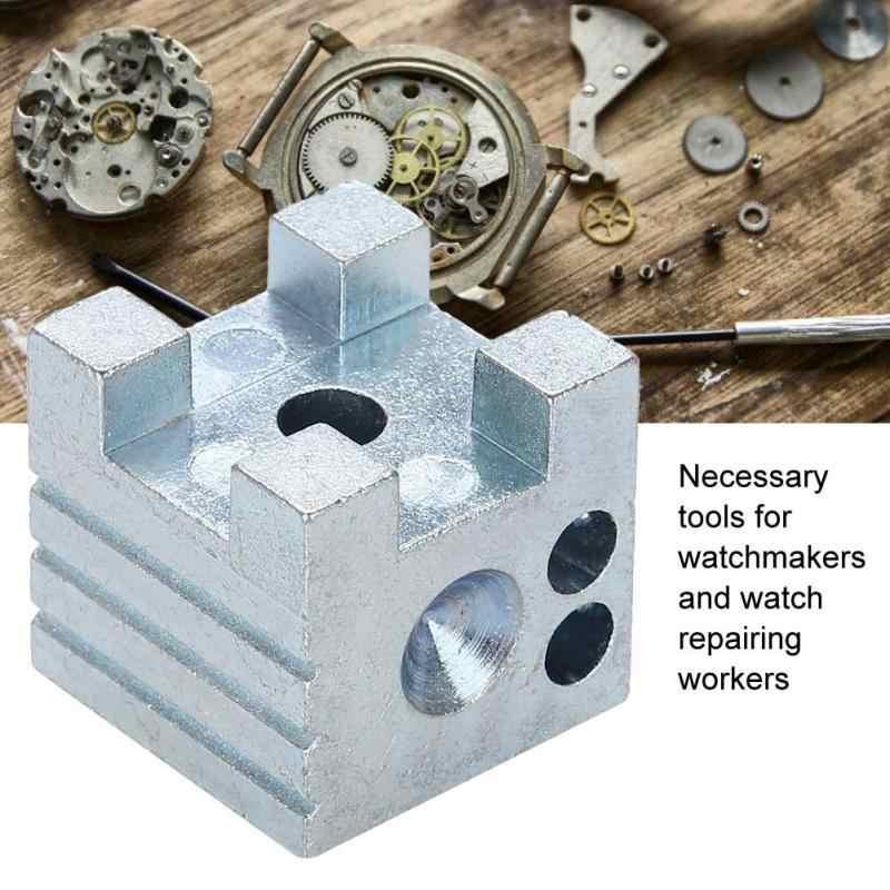 時計屋アルミ合金修復ツール浮き沈みさせる釣り方ドーミングブロック時計修理ホルダー