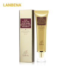 Lanbena Acne Scar Removal Cream Scar Gel Skin Repair Face Cream Acne Spots Acne Treatment Skin Care Whitening Stretch Marks 2pcs стоимость