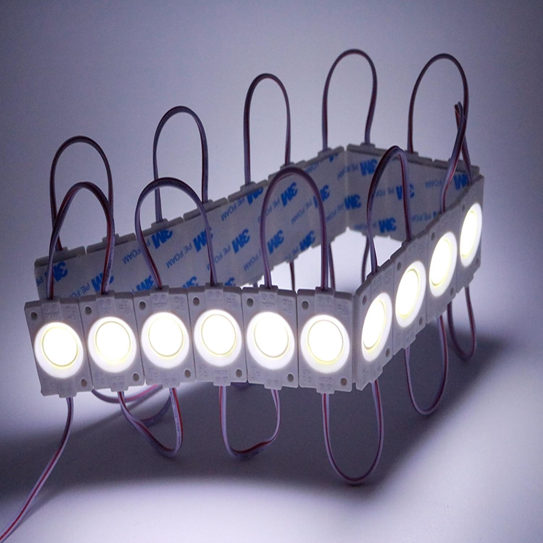 1 Pcs Cob Led-modul Streifen Licht Bead Chip Wasserdichte Dc12v 2,4 W Ultra Helle Diy Lampe Beleuchtung Warm Weiß Jq Auf Dem Internationalen Markt Hohes Ansehen GenießEn