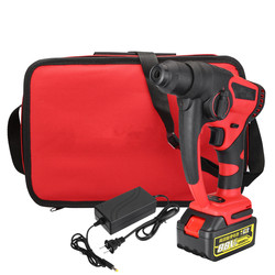 88V 800w 10000mAh Brushless Cordless Lithium-Ion Electric Hammer Drill With Bag Power Tools