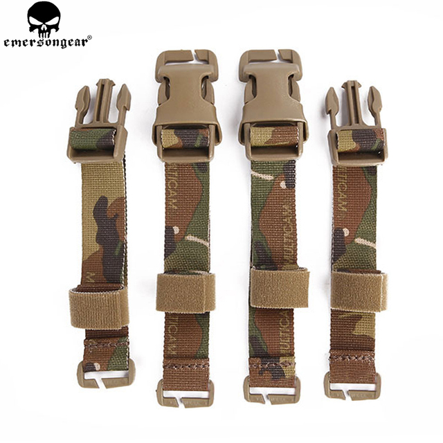 emersongear Chest Rig to Vest Adapter Kit Webbing for Molle Vest Chest Rig Emerson Adapter Hunting Vest Accessories Multicam 1