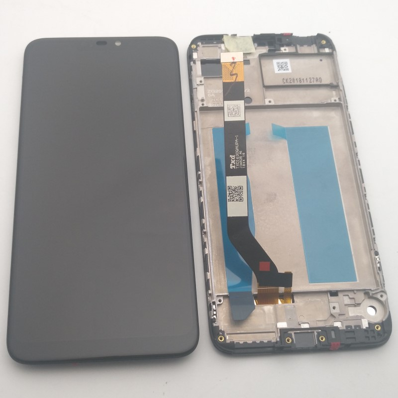 LCD Screen Mobile Phone and Digitizer Full Assembly for Asus Zenfone Max Black Color : Black ZB633KL // ZB632KL M2