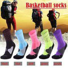 New Mens Towel Bottom Thickened Knee-high Socks Cycling Anti-sweat Outdoor Sports Running Basketball Sport