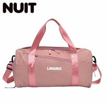 Woman Travelling Bags Nylon Portable Tote Bag Large Capacity Female Fashion Casual Tourism Light A Short Trip Tavel
