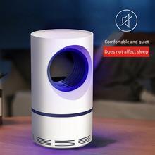 Низковольтный ультрафиолетовый свет, лампа убийца от комаров, безопасный энергосберегающий эффективный окружающий тип, фотокаталитический свет