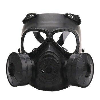 Caliente máscara de Gas máscara de respiración creativo de la etapa Prop para CS equipos de campo Cosplay protección Halloween mal