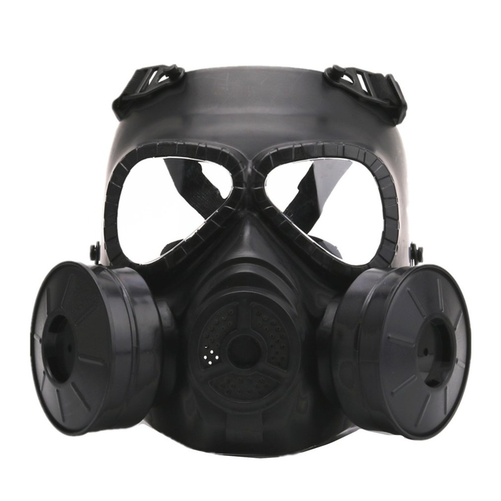 Hot Gas Mask Breathing Mask Chemical Dust Mask Filter Respirator Mask For CS Field Equipment Stage Performance Prop