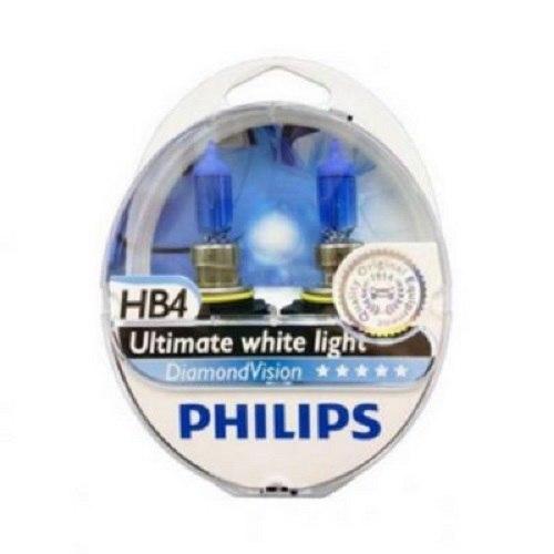 Lamp Philips DIAMOND VISION 5000 K HB4/9006, 55, P22d, 12 V (9006DVS2)