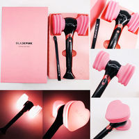 Official BLACKPINK LightStick Concert Glow Lamp hammer Light stick JISOO Lisa JENNIE ROSE Fans Gift Led Luminous Novelty Toys