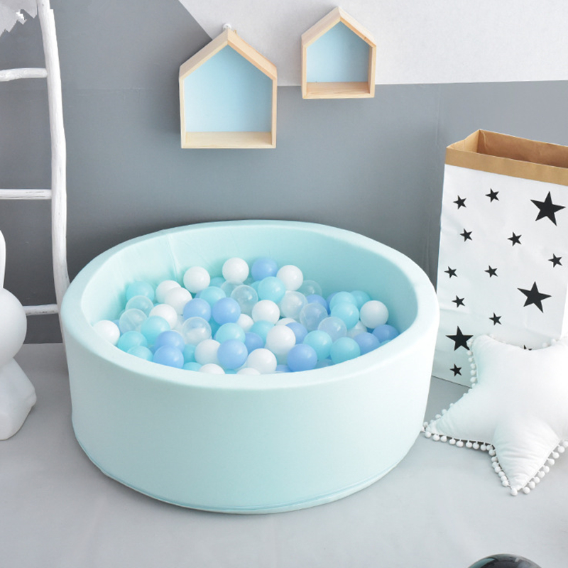 Baby Ocean Ball Pool Fencing Manege Grey Blue Pink Round Play Pool For Baby Play Ball Playground Toddlers Games Children Toys