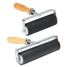 Holz Griff Gummi Roller Pinsel DIY Diamant Malerei Bürsten Handwerk Werkzeuge Malen Werkzeuge Pinsel Hintergrund Wand Werkzeug