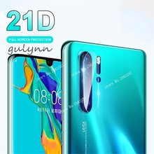 2PC 21D Back Camera Lens Screen Protector Film For HuaWeie P30 P20 Lite Pro Nova 4E 3i P Smart Y9 Y6 Y7 2019 Plus Tempered Glass