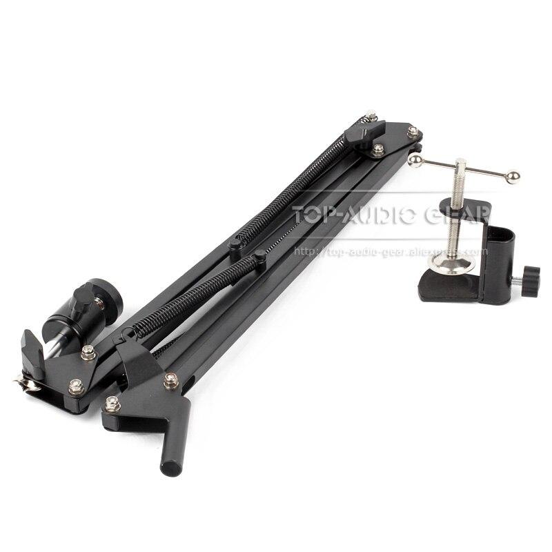 Image 2 - Desktop Suspension Boom Arm Mic Stand Scissor Mount Clamp For Logitech Webcam C922 C930e C930 C920 C615 C 922 930 e 930e 920 615Mic Stand   - AliExpress