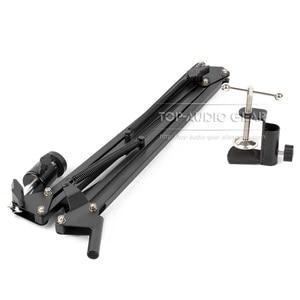 Image 2 - Desktop Suspension Boom Arm Mic Stand Scissor Mount Clamp For Logitech Webcam C922 C930e C930 C920 C615 C 922 930 e 930e 920 615
