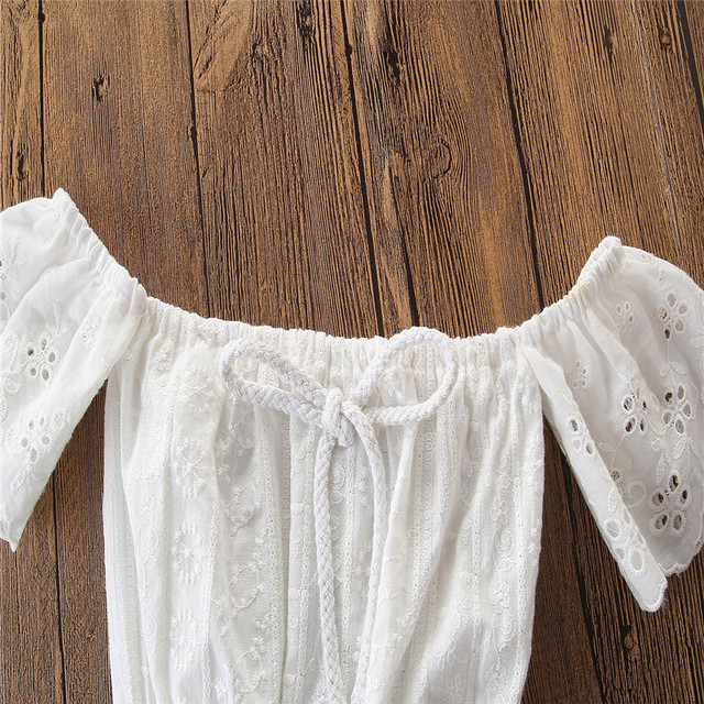 2019 baby girl clothes set lace crop top vest+bow lace up plaid pants set baby clothes girl summer clothing 2pcs 3