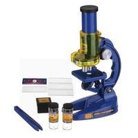 Çocuklar Mikroskop Seti 100X 200X 450X Okul Bilim Eğitim Çocuk Biyolojik Mikroskop