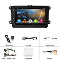 2019 New Arrival 8 Inch Smart Android 7.1 Car Universal MP5 MP4 Player HD Large Screen Navigation Car Player Drop Shipping
