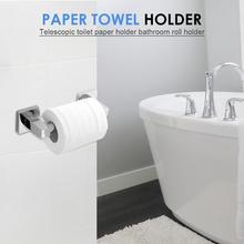 Держатель для туалетной бумаги настенное крепление из нержавеющей стали WC тканевые коробки для ванной комнаты рулонный дозатор аксессуары сверлильная установка