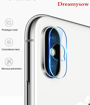 Dreamysow For iPhone XR XS max 6 S 6S 8 7 Plus Accessory Back Camera Lens Screen Protector note edge to edge Tempered Glass Film iPhone XR