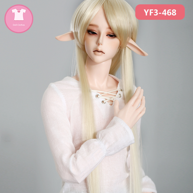 Doll BJD Clothes 1/3 SD isoom Nyan elf doll  is available for Super Gem Size Doll Accessories