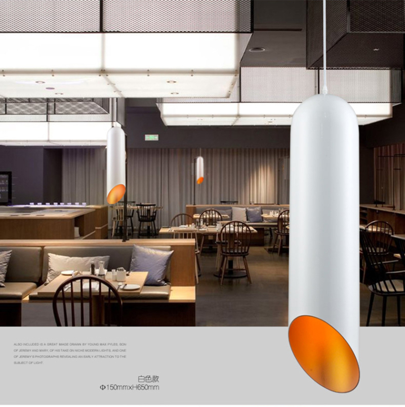 Északi részletű, alumínium művészi függő lámpák, E27 - Beltéri világítás