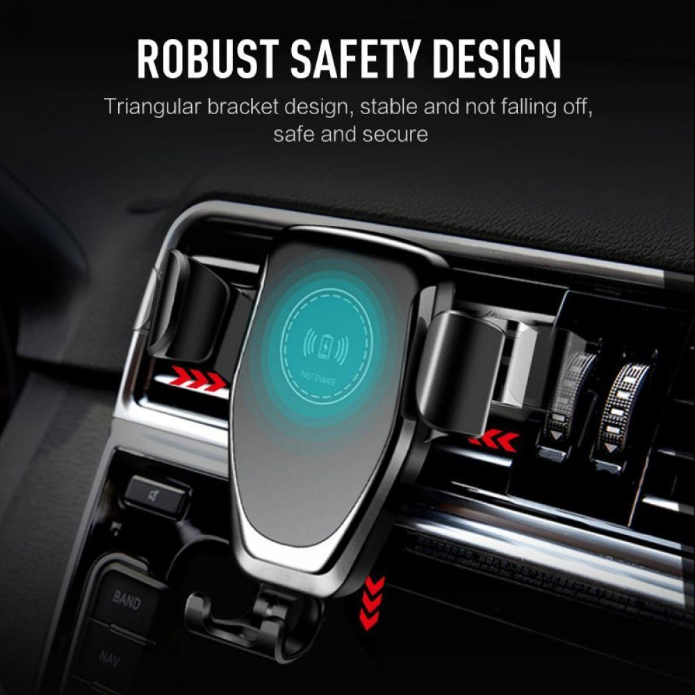 10w Qi Car Wireless Charger for IPhone X/XS Max XR 8Plus