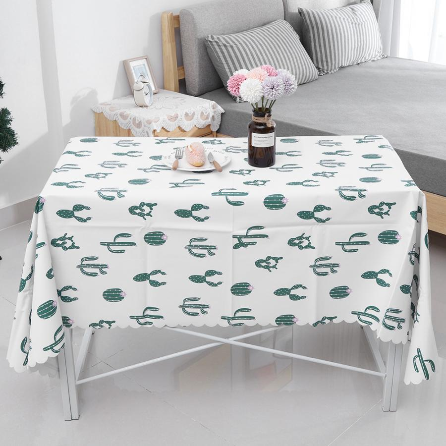 Home & Garden Alert High Quality Table Cloth Waterproof Anti Oil Pvc Table Cloth Dining Kitchen Table Cover Protector Party Decor