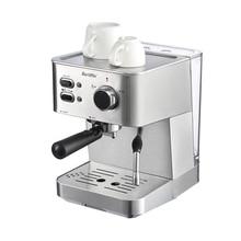BARSETTO 15Bar Pressure Coffee Machine stainless steel household espresso coffee maker-EU Plug