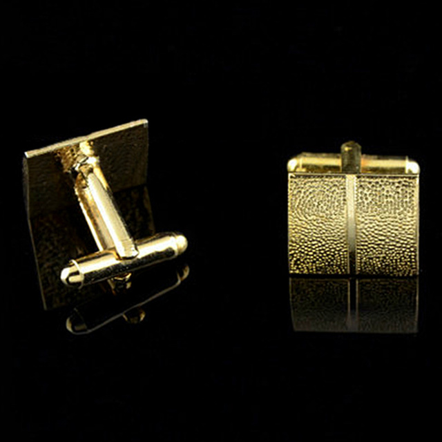 Gold Plating Tie Clip and Cufflink  2
