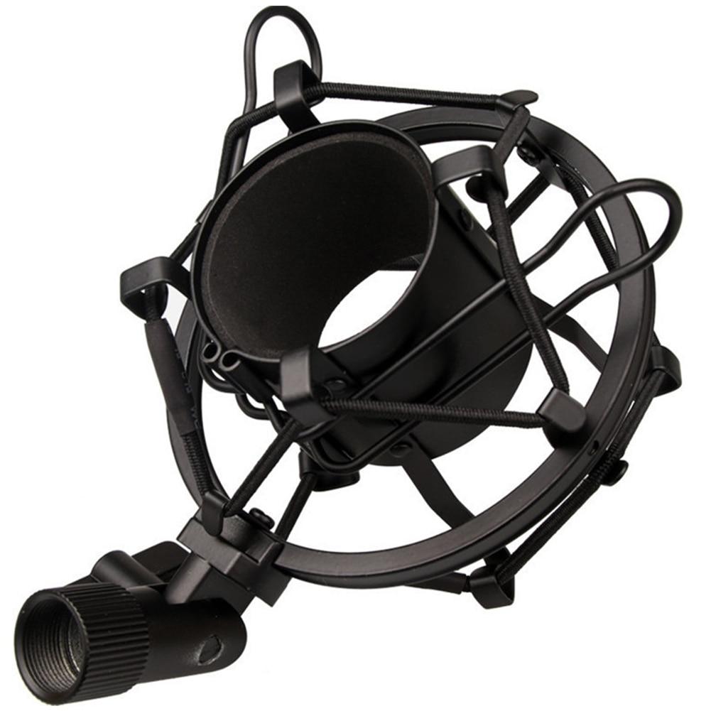 Mic Shock Mount Clip Holder Anti Vibration Suspension F Studio Recording