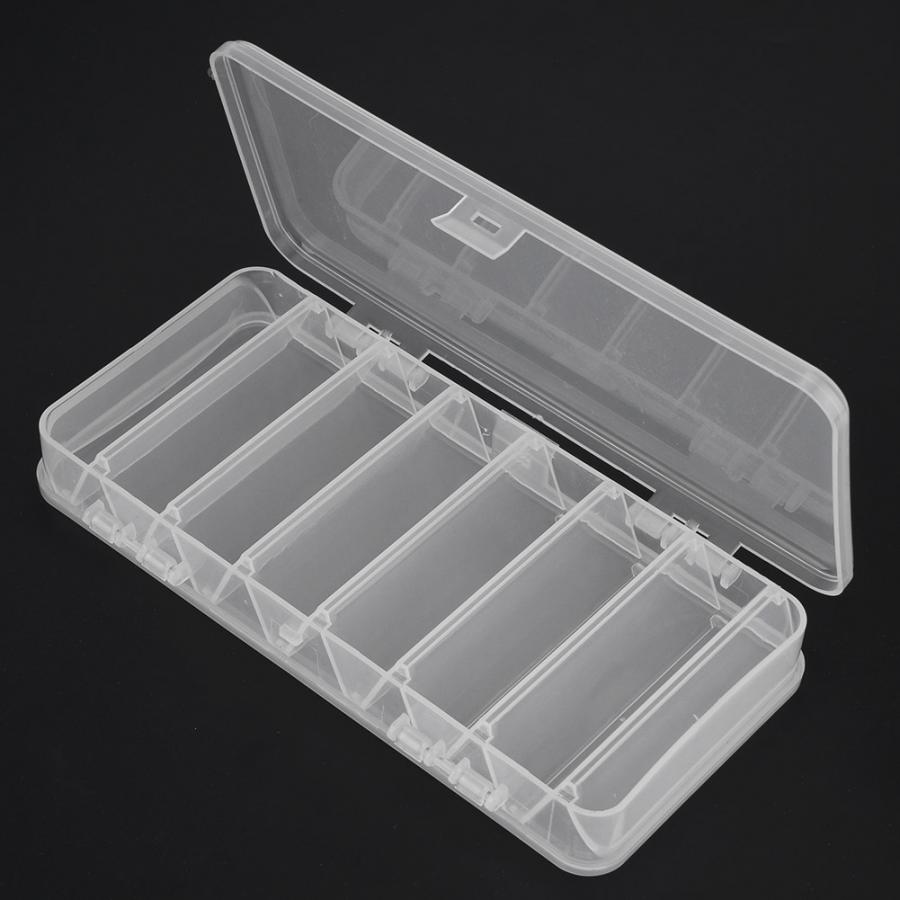 Box Lures-Box Fishing-Tackle-Tools Double-Sided Storage-Case Baits-Holder Mini Portable title=