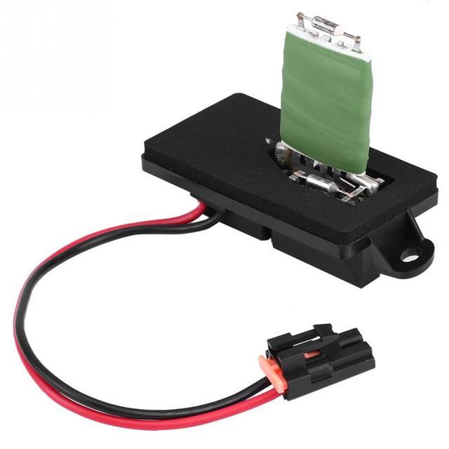 US 20 OFF Car Blower Speed Regulator Module Motor Fan Control Resistor For Chevrolet GM GMC Cadillac 1999 2003 89019089 Car Accessories In