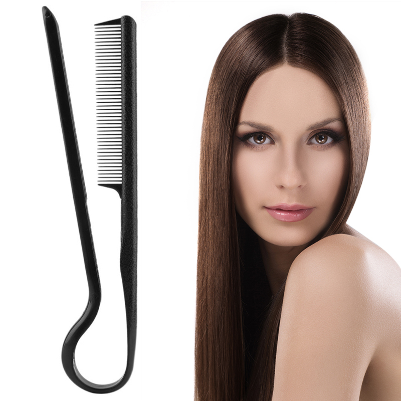 Wholesale V Type Straight Hair Comb DIY Salon Haircut Hairdressing Anti-static Combs Brush Washable Folding Styling Tool