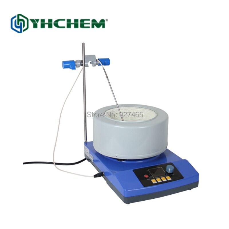 Agitateur magnétique de chauffage d'équipement de laboratoire d'affichage Digitale