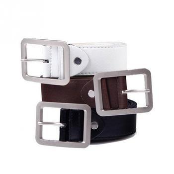 2019 New Men Belt Buckle Square Shape Imitation Luxury Leather Upscale PU Belt For Men Strap Male Metal Automatic Buckle #02 цена 2017