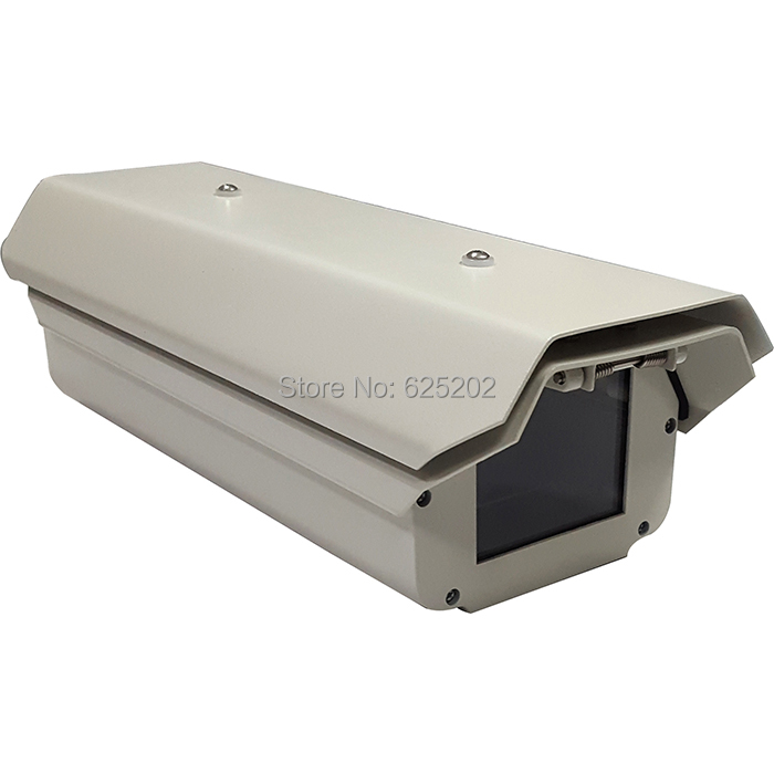 Weatherproof Double Layers CCTV Camera Housing 12 Inch